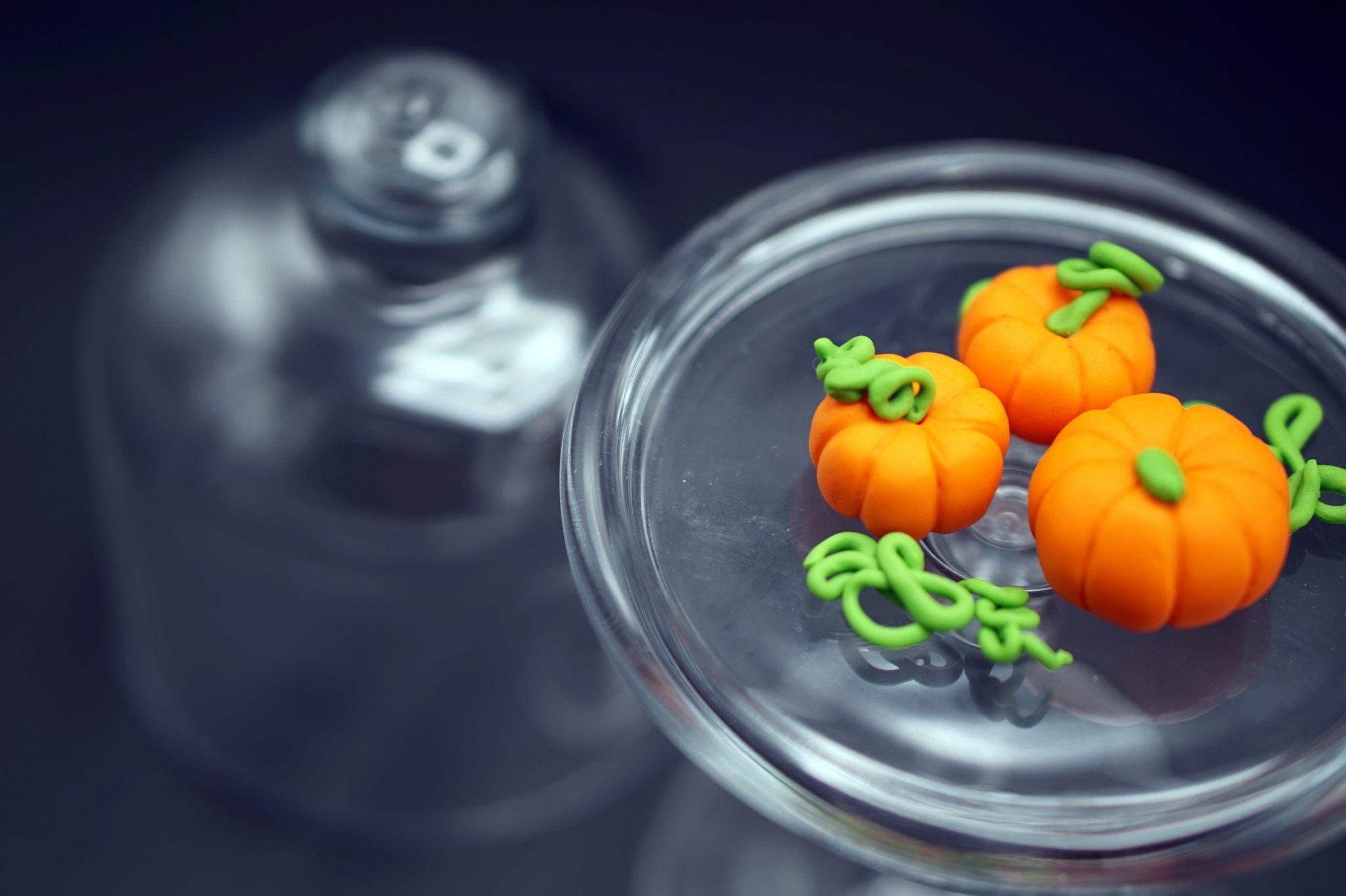 Foto Di Halloween.Zucche Di Halloween Pasta Di Zucchero